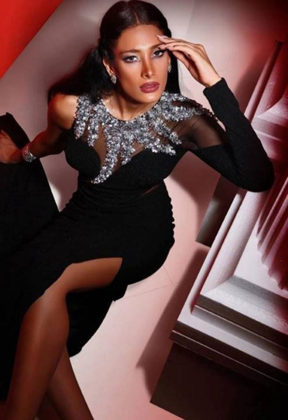 Dana Nik, otra de las modelos exiliadas de Irán. (Foto: Infobae)