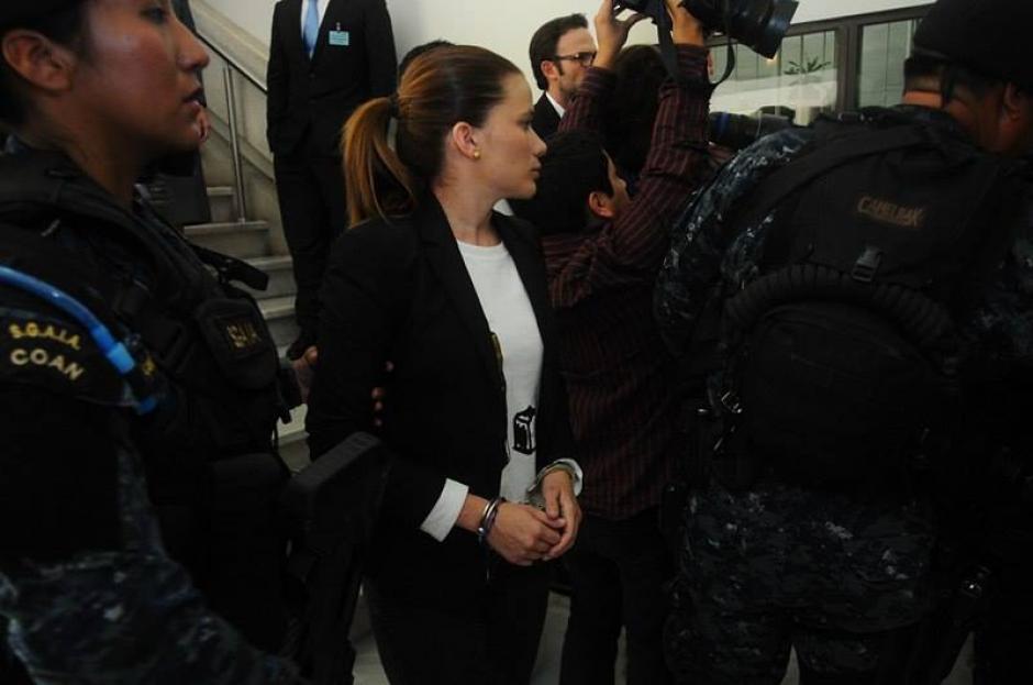 La exasistente de Roxana Baldetti fue puesta en prisión. (Foto: Alejandro Balan/Soy502)