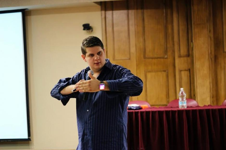 Daniel Acosta es el coach transformacional más joven de México. (Foto: Daniel Acosta)