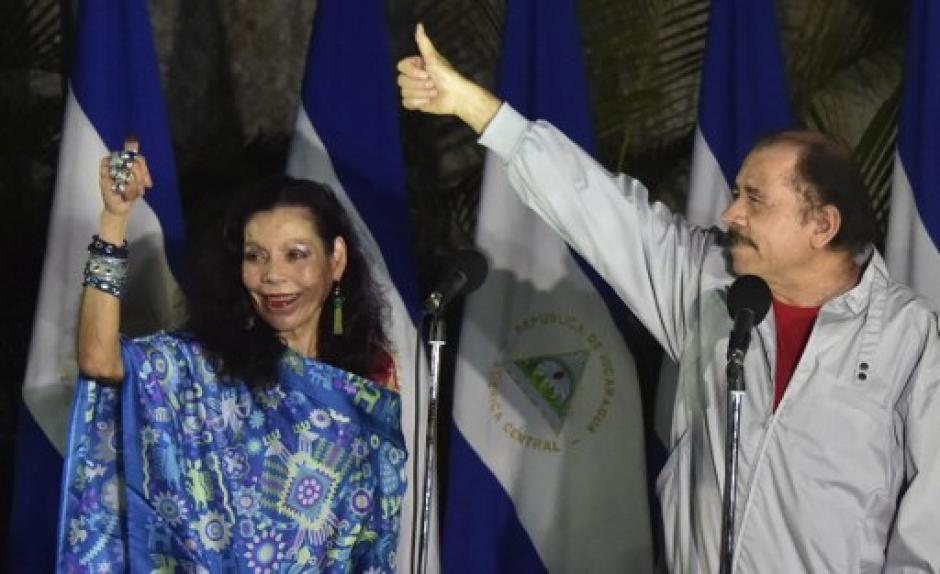 El presidente Daniel Ortega ganó por tercera ocasión consecutiva la presidencia de Nicaragua. (Foto: AFP)