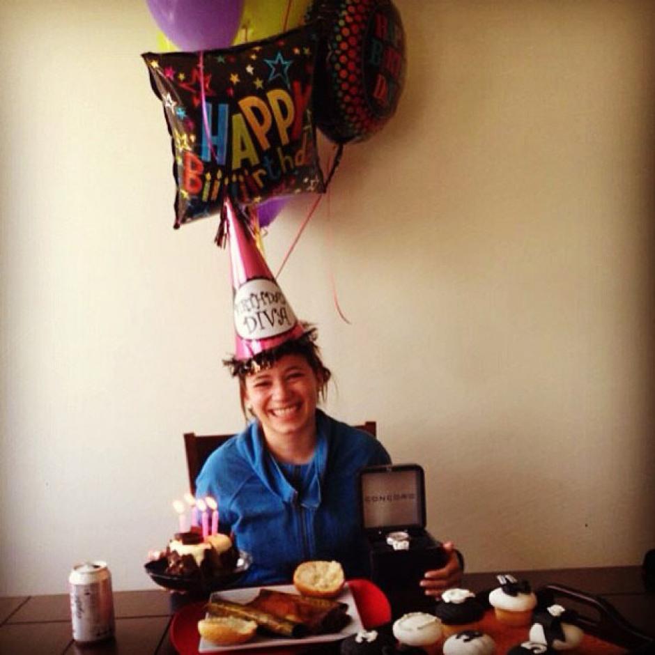 En este cumpleaños Beltranena no podrá festejar como en los años anteriores. (Foto: Facebook)