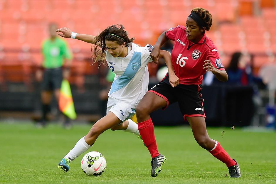 En el premundial Daniela Andrade enfrentó a las trinitarias. (Foto: Soy502)