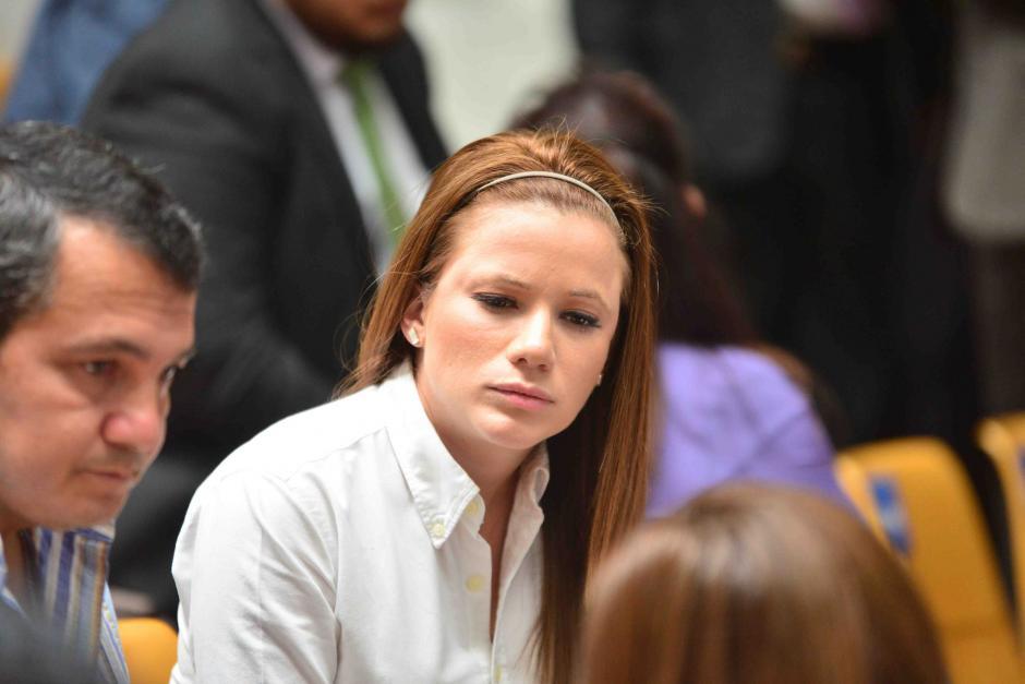 La exdiputada tiene 27 años. (Foto: Archivo/Soy502)