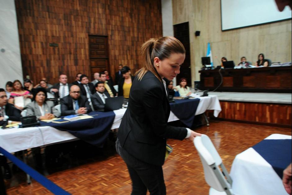 El pasado 3 de agosto, Daniela Beltranena le suplicó al juez Miguel Ángel Gálvez que no la enviara a prisión. (Foto: Archivo/Soy502)