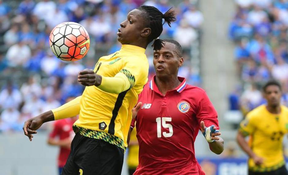Darren Mattocks de Jamaica llamó la atención en el juego ante Costa Rica. (Foto: diezhn.com)