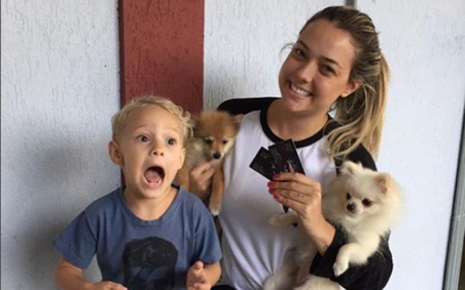 El pequeño Davi Lucca, hijo de Neymar y su madre Carolina Dantas. (Foto: Instagram)
