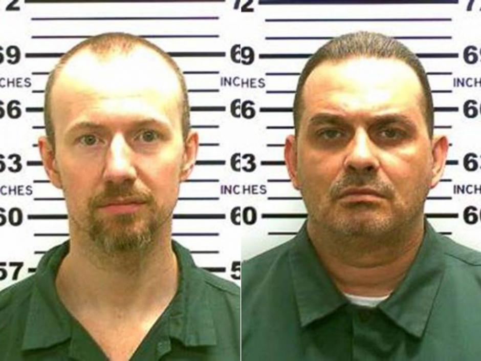 Richard Matt y David Sweat foto