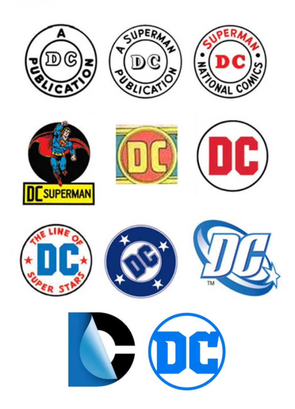 Así evoluciona la imagen de DC Comics. (Foto: Sopitas.com)