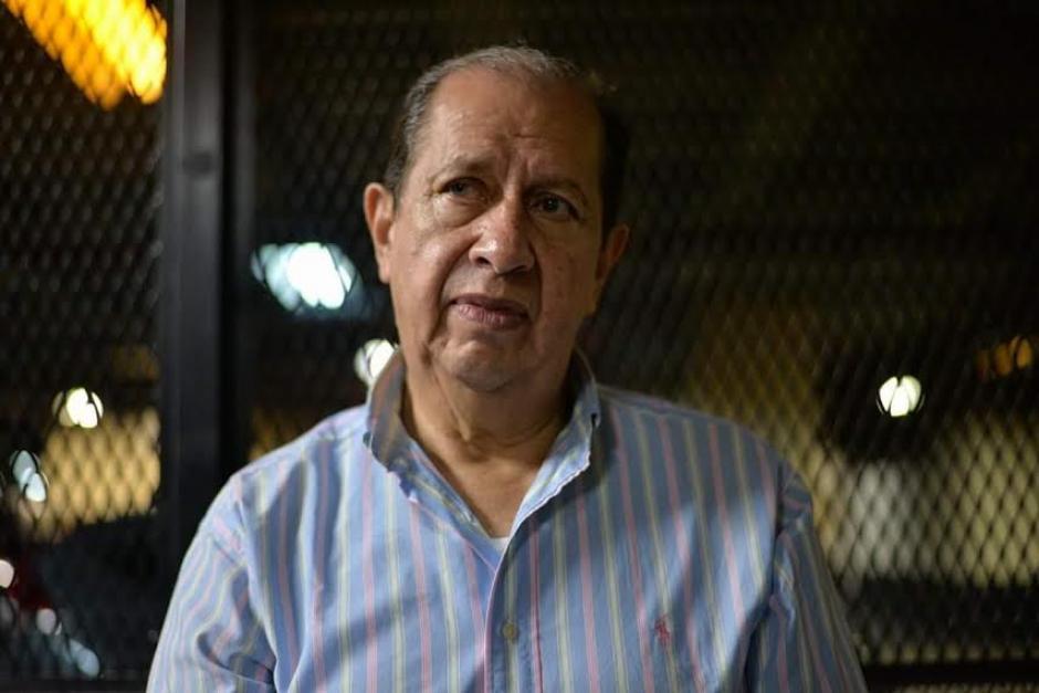 El exdirector del Congreso, Luis Mijangos ha ocupado diferentes cargos públicos. (Foto: Wilder López/Soy502)