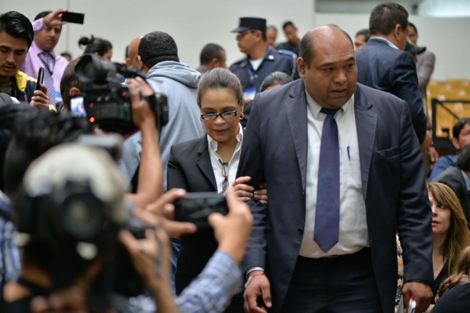 La exvicepresidenta Roxana Baldetti podría declarar en la continuación de la audiencia. (Foto: Wilder López/Soy502)