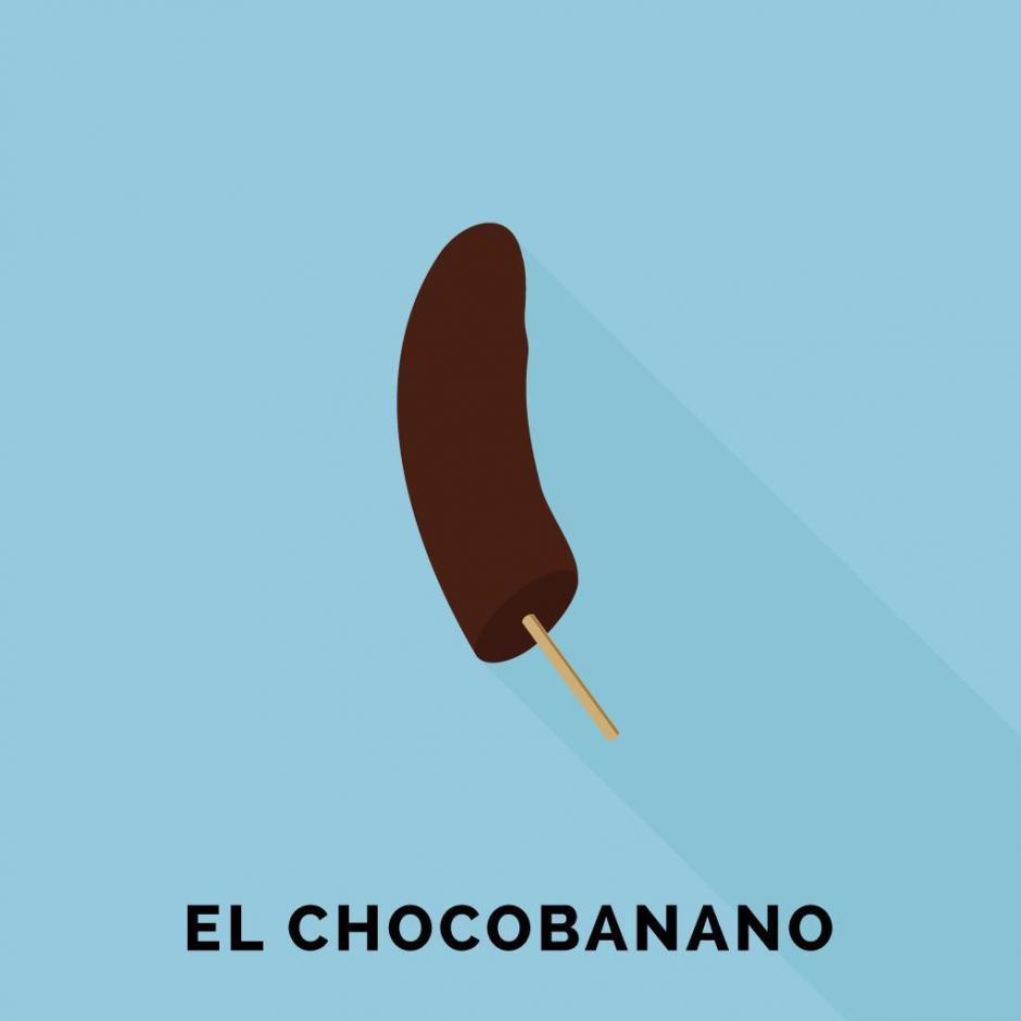 A la hora del postre, bien puedes ir por unos chocobananos a la tienda. (Foto: Guatemoji)