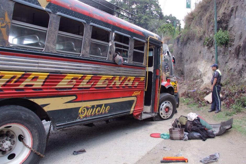 Al menos 15 personas resultaron heridas en el percance vial.  (Foto: Fredy Hernández/Soy502)