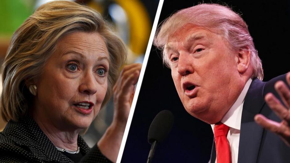 Hillary Clinton y Donald Trump se enfrentarán en su segundo debate previo a las elecciones presidenciales de los Estados Unidos. (Imagen: laradio247fm.com)