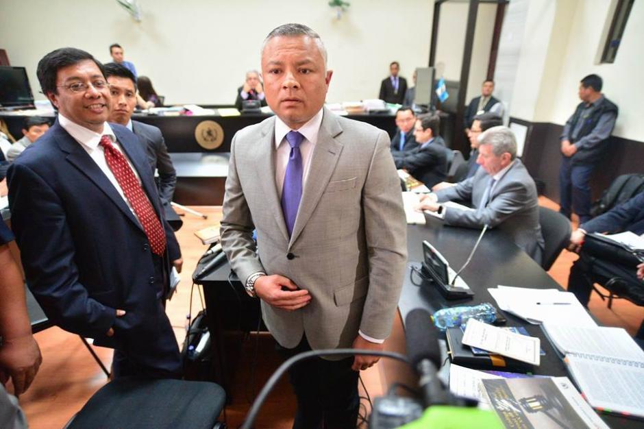 "Salvador Estuardo González Álvarez alias ""Eco"" declaró finalmente como colaborador eficaz. (Foto: Wilder López/Soy502)"