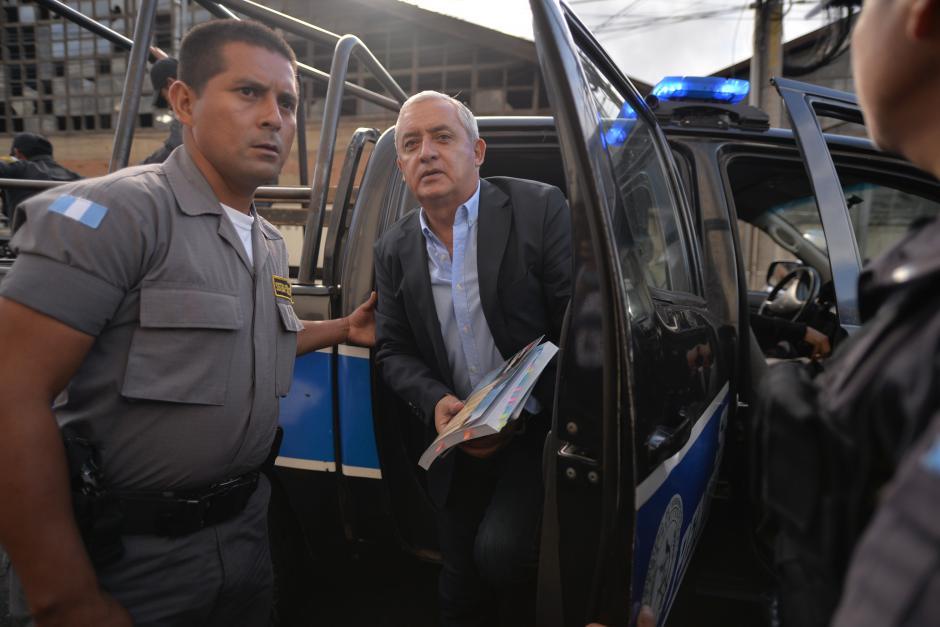 El expresidente Otto Pérez Molina ha llevado consigo el Código Procesal Penal. (Foto: Archivo/Soy502)