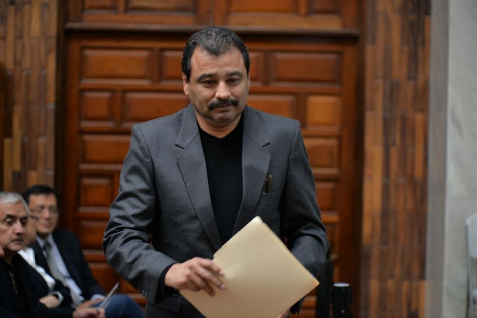 César Calderón también es el abogado de Otto Pérez Molina.  (Foto: Wilder López/Soy502)
