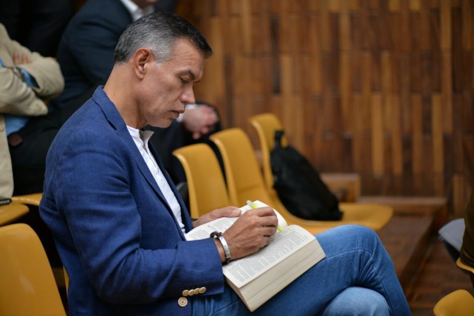 """Juan de Dios Rodríguez está acusado por la """"Cooperacha"""", caso que se anexó al de Cooptación del Estado.  (Foto: Wilder López/Soy502)"""