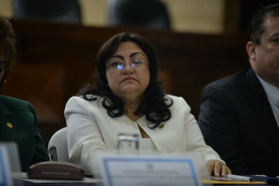 Delia Dávila también aspiraba a presidir la CSJ. (Foto: Wilder López/Soy502)