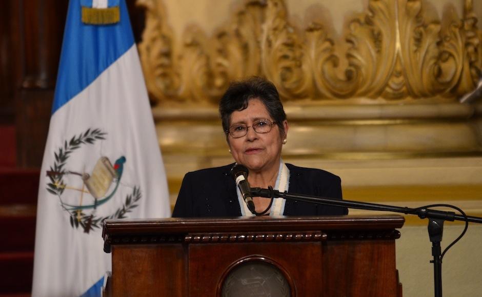 Fue galardonada por la importancia de sus textos representando a una generación en los años más duros de Guatemala. (Foto: Selene Mejía/Soy502)