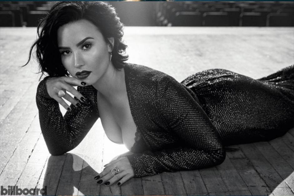 "Demi se atrevió a retar a ""Rocky"". (Foto: Instagram)"
