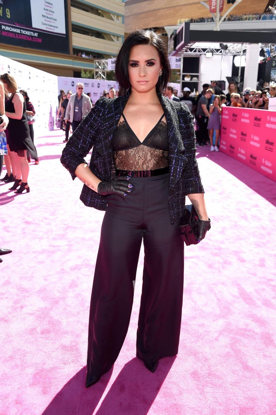 Demi Lovato fue nominada a Mejor artista en redes sociales. (Foto: Twitter/BillboardMusicAwards)