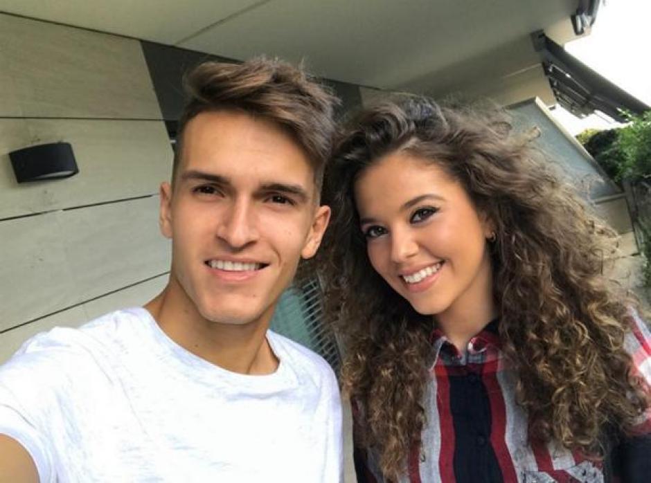 Denis Suárez, de 22 años, es novio de Sandra Montoto, de 21. (Foto: Infobae)