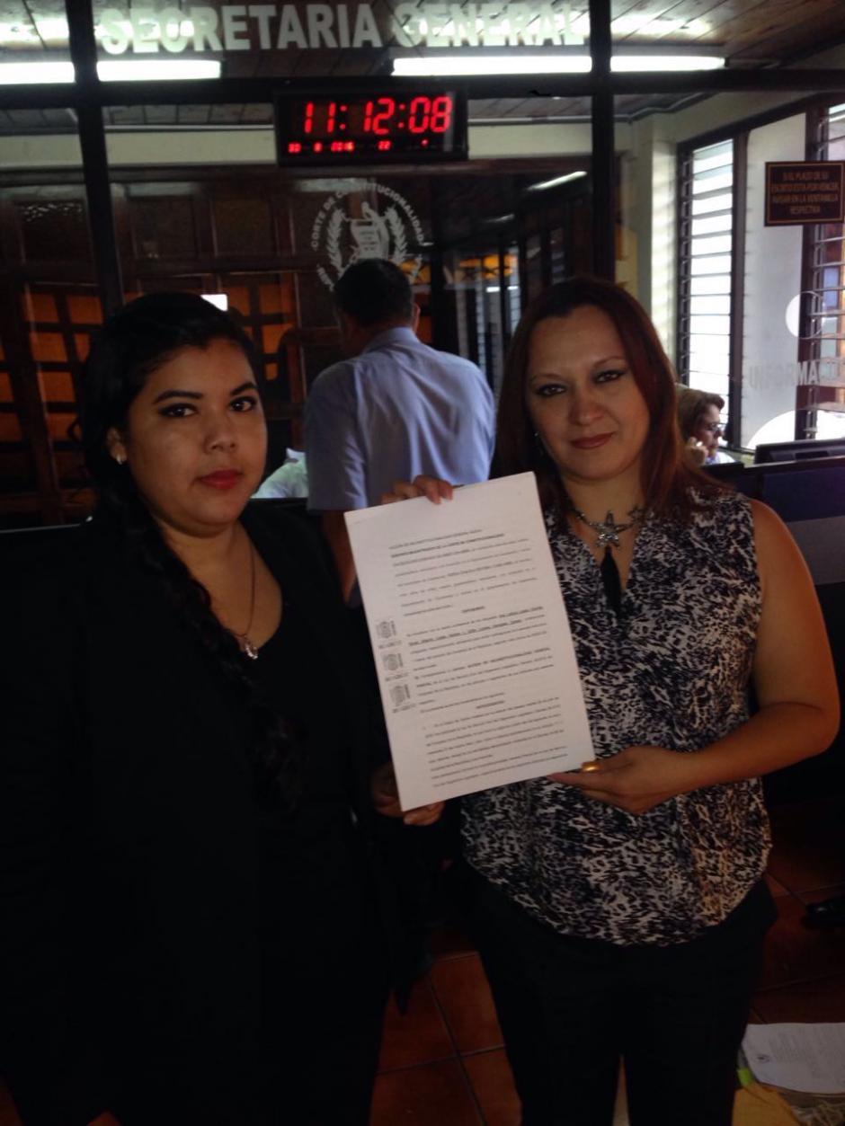 Las empleadas se ampararon en la Ley de Femicidio para denunciar a Taracena. (Foto: SIGECOR)