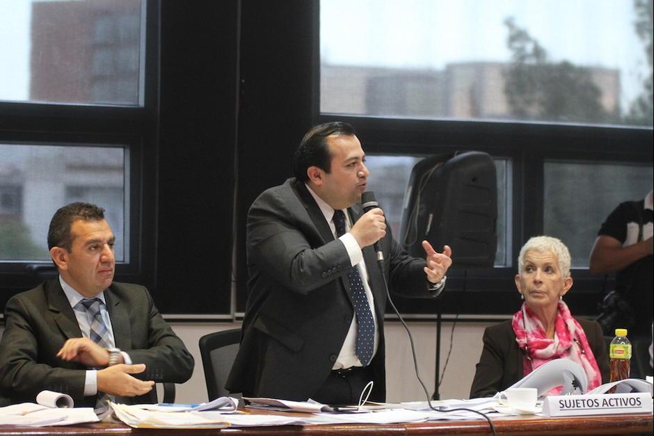 Stuardo Ralón dirigente de la Fedefut en una audiencia con el Tribunal de Honor. (Foto: Soy502)  (Foto: Luis Barrios/Soy502)