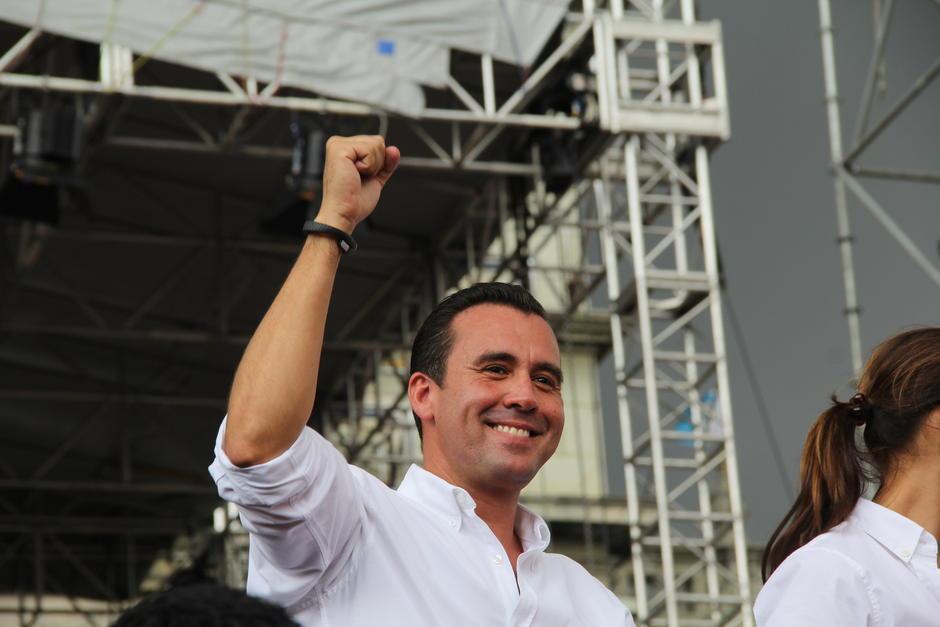 Alejandro Sinibaldi era uno de los financistas del Partido Patriota durante su postulación a alcalde de la capital. (Foto: Archivo/Soy502)