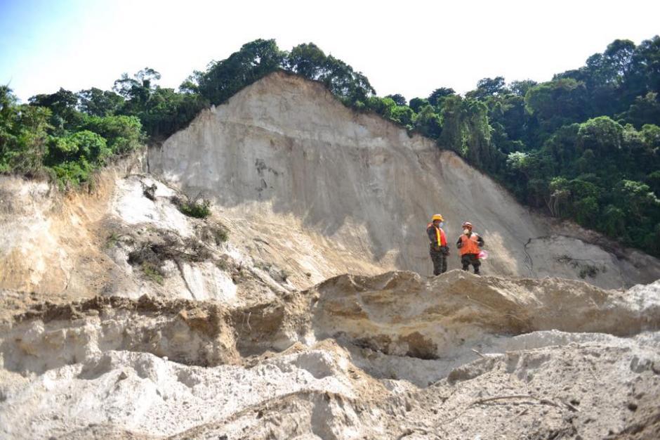 El ingeniero que realizó el estudio de evaluación de impacto ambiental no consideró que en el área hubiera ningún peligro, más que el sísmico y la erosión. (Foto Jesús Alfonso/Soy502).