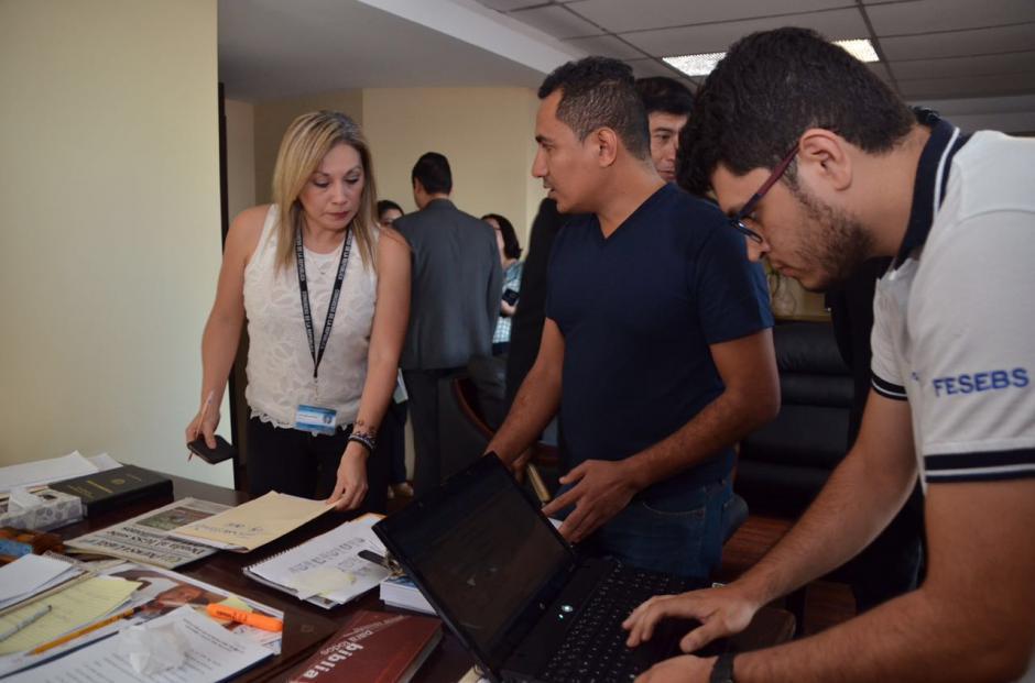 Los artículos de Rabbé serán puestos a disposición del Ministerio Público. (Foto: cortesía José Castro)