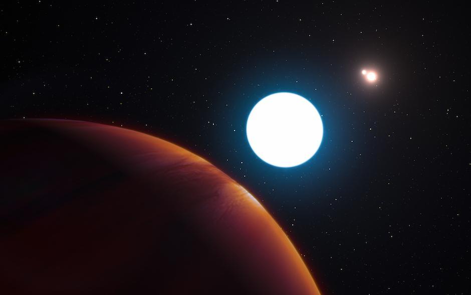 El planeta se encuentra en la constelación de Centauro y la NASA lo ha nombrado como HD 131399Ab. (Foto: taringa.net)