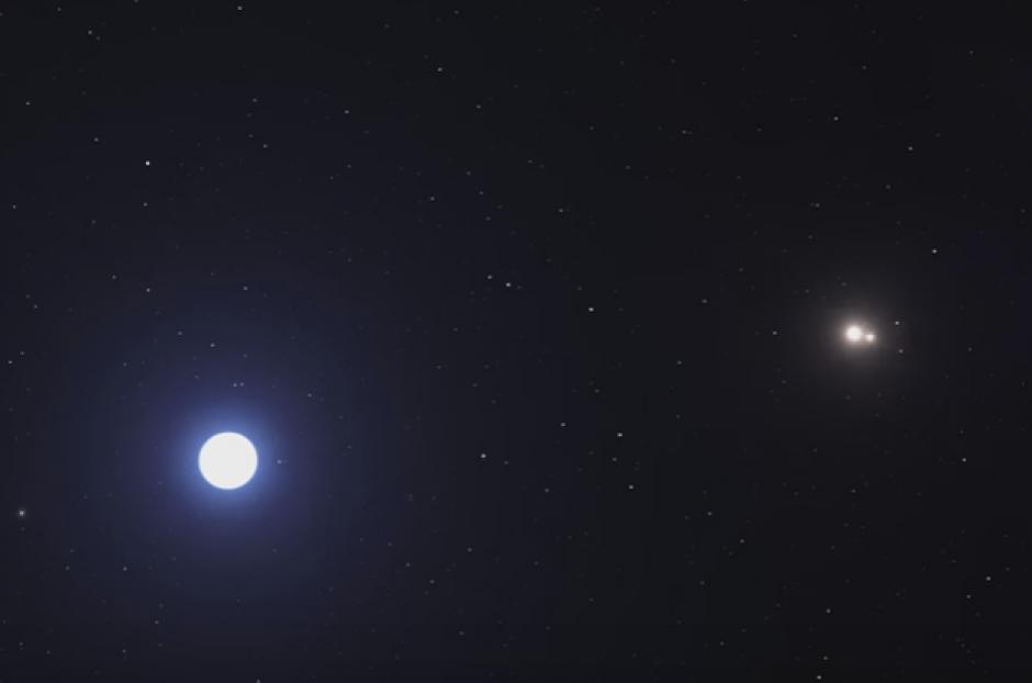 El planeta se encuentra a 340 años luz de la Tierra. (Foto: entravision.com)