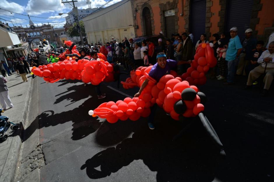 Avionetas de color rojo se disfrutaron. (Foto: Wilder López/Soy502)