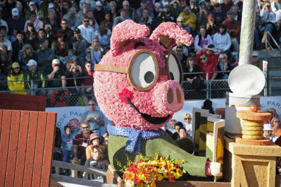 El desfile tiene lugar en las calles de Pasadena, California. (Foto: ahoramismo.com)