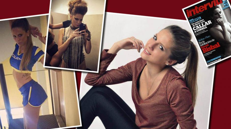 La sensual modelo, Julieta Ortiz, está en ojo del huracán en su natal Argentina.