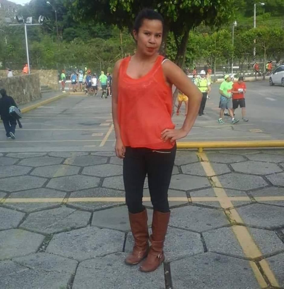 La joven Gloria Margarita Mayén Guamuch permanece desaparecida desde el domingo. (Foto: Carlos Mayén)