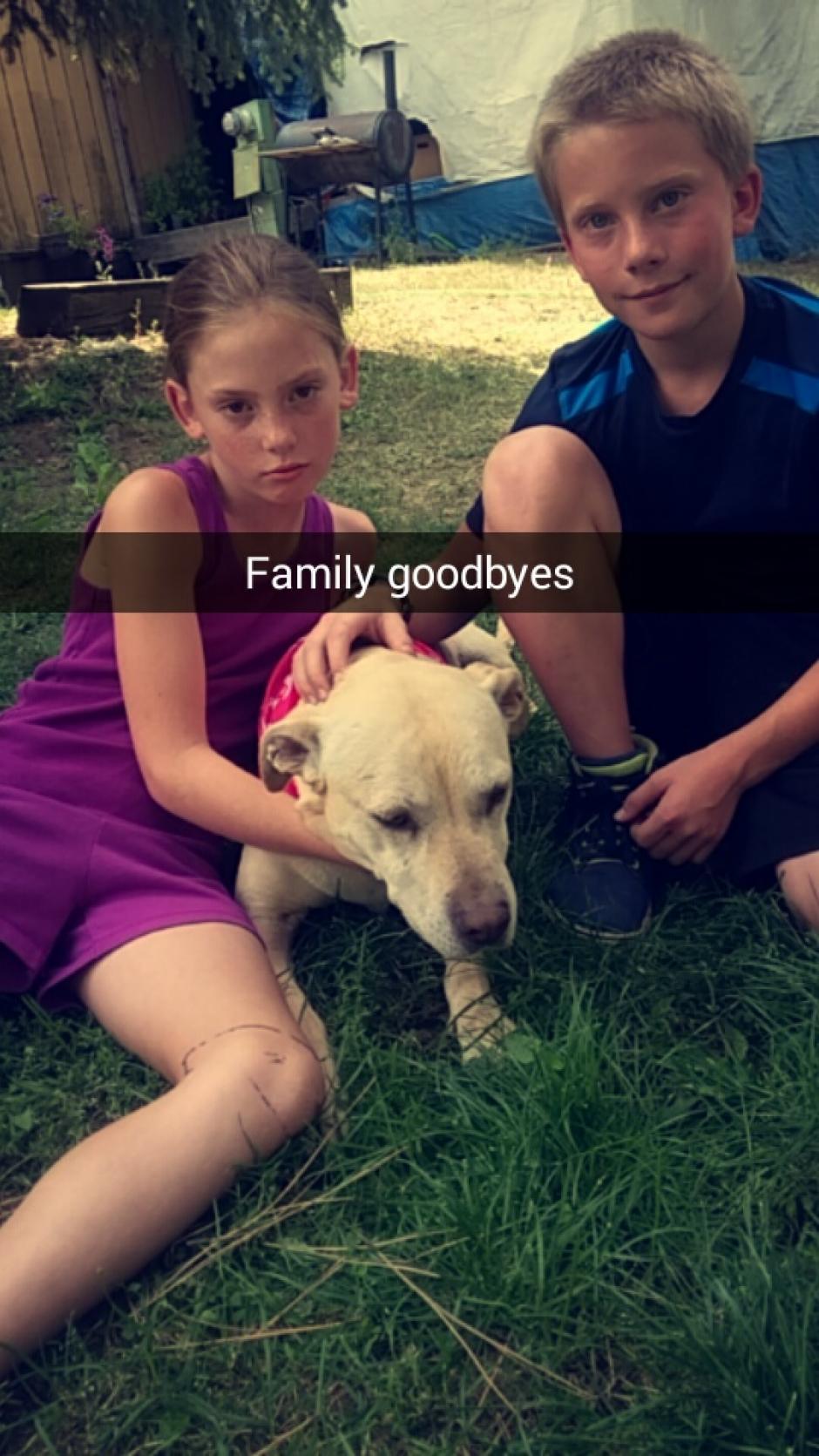 El dolor y la alegría se mezclaban. (Foto: Snapchat)