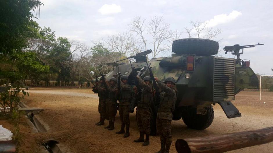 La movilización incluyó cuerpos especiales, como los Kaibiles. (Foto: Ejército)