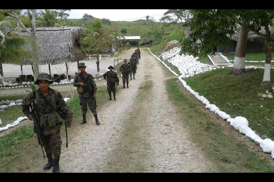 Tanto Guatemala como Belice ampliaron su presencia militar en el área. (Foto: Defensa)