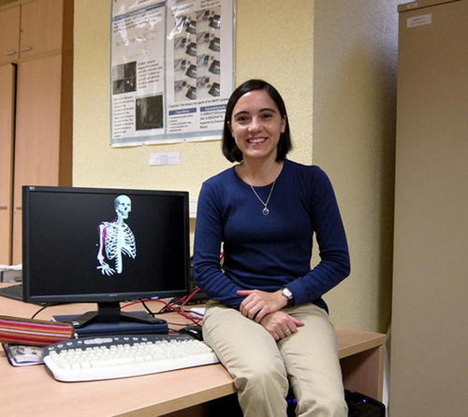 Marie André Destara desarrolla un exoesqueleto para ayudar a pacientes con lesiones. (Foto: Archivo Soy502)