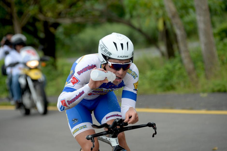 El quetzalteco Manuel Rodas fue el mejor guatemalteco de la Vuelta. Rodas sumó puntos para el ranquin latinoamericano y está cerca de sellar su plaza para los Juegos Olímpicos de Río 2016. Serían sus segundos Juegos, ya estuvo presente en Londres 2012.(Foto: Diego Galiano/Nuestro Diario)