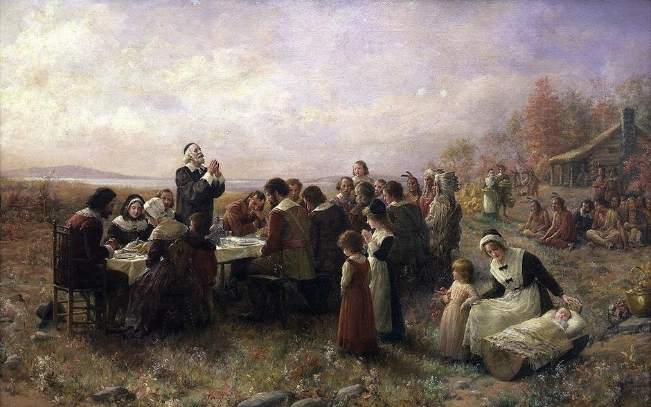 Esta costumbre nació a través de los colonos cristianos que bendecían sus cosechas en el año 1598. (Foto: Educa)