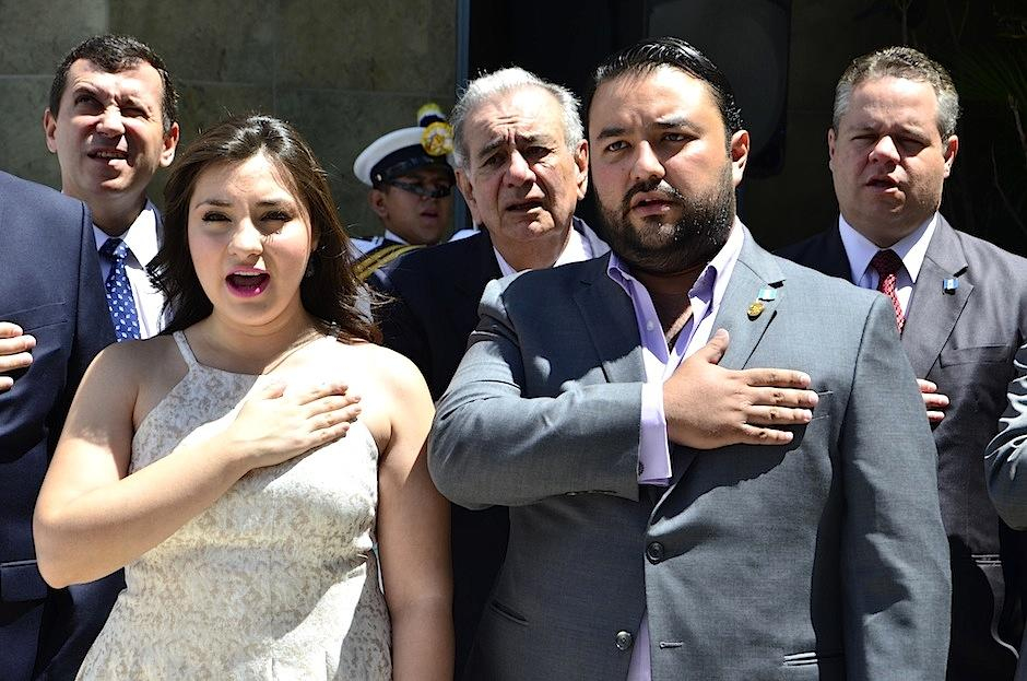 Mario Chang fue elegido para el solemne acto por sus logros. (Foto: Selene Mejía/Soy502)