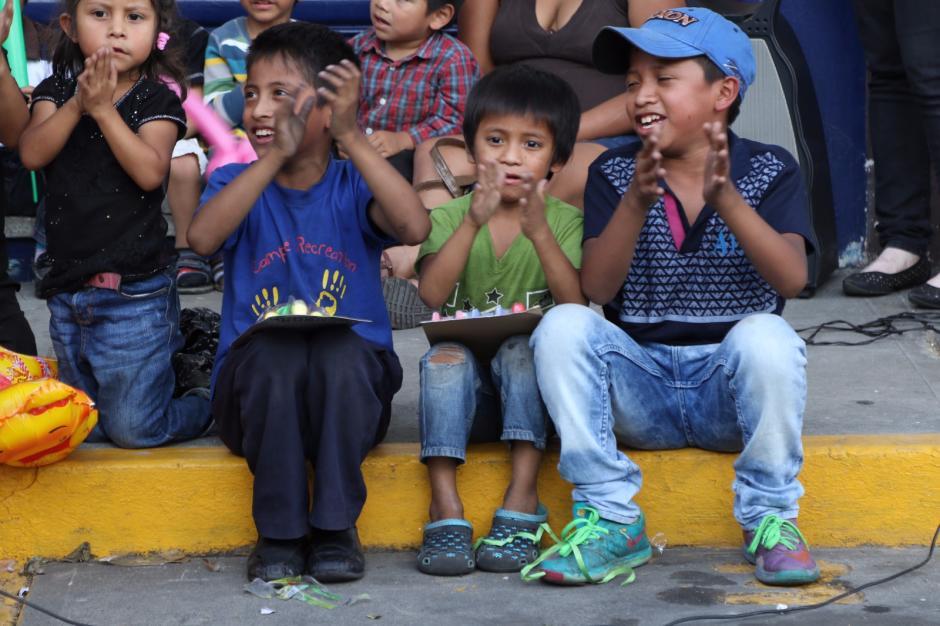 El festejo del Día del Niño se efectuó en la zona 9. (Foto: Alejandro Balán/Soy502)