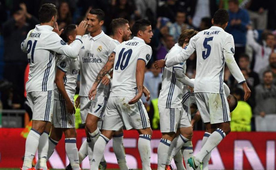 El Real Madrid ganó 2 a 1 contra el Sporting de Lisboa. (Foto: diez.hn)