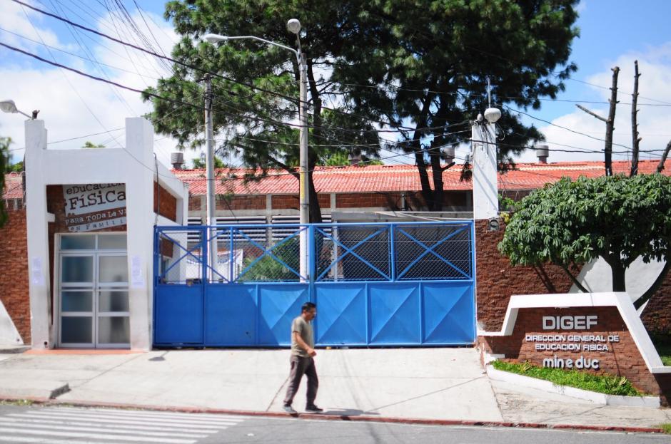 Este es el panorama de la institución que fue tomada. (Foto: Alejandro Balán/Soy502)