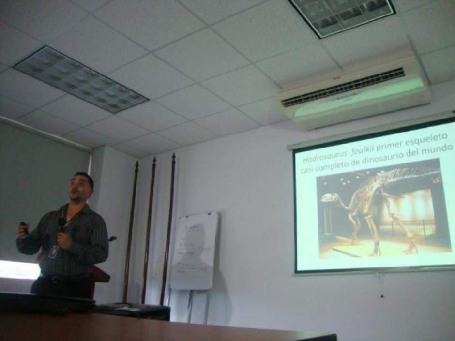 Los investigadores hondureños encontraron evidencias de otro fósil que data de 1933. (Foto: Presencia Universitaria)