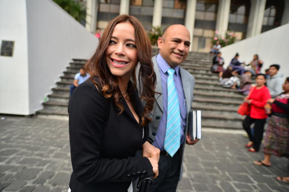 La ahora exdiputada Julia Maldonado, enfrenta proceso por presuntamente malversar fondos en la Conjuve. (Foto: Archivo/Soy502)