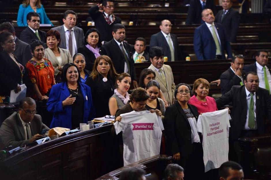 A pesar de la presión los diputados no aprobaron la reforma. (Foto: Jesús Alfonso/Soy502)
